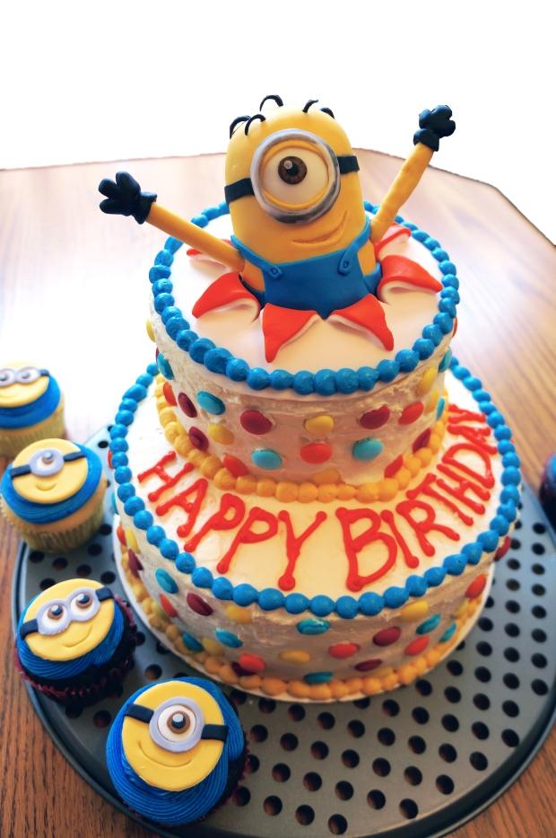 custom Minion cake
