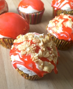 Candy Apple Cupcakes