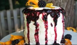 Mini Blackberry Vanilla Cake