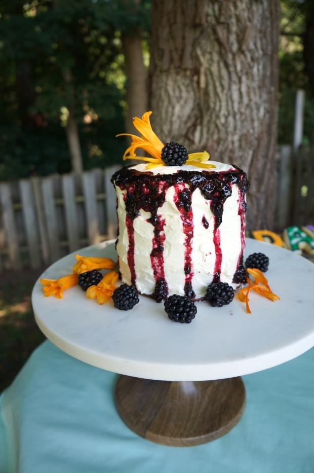 vanilla small stack cake