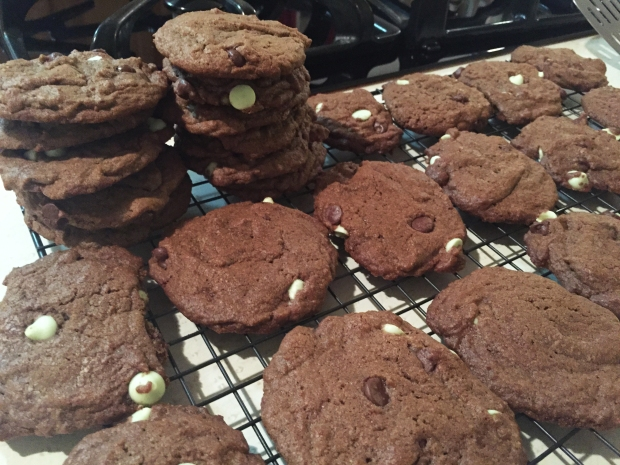 winter mint cookies