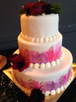 Jewel toned wedding